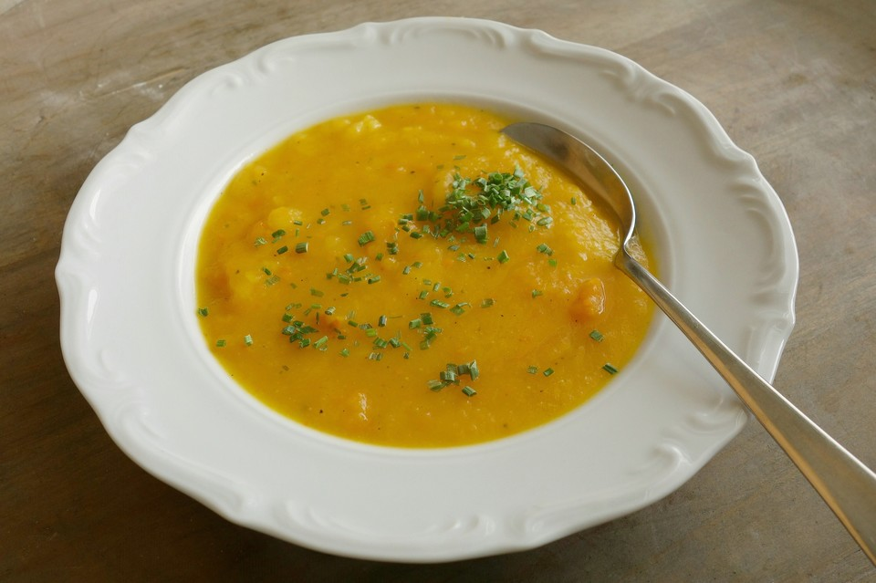 Leckerschmecker Kartoffel - Kürbissuppe (Rezept Mit Bild