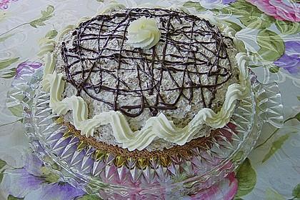 Birnen - Schokoladen Torte 12
