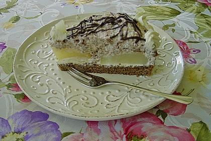 Birnen - Schokoladen Torte