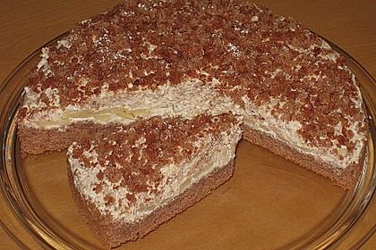 Birnen - Schokoladen Torte 11