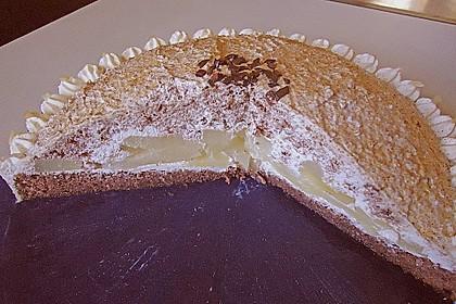 Birnen - Schokoladen Torte 9
