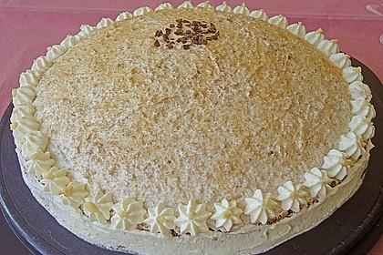 Birnen - Schokoladen Torte 6