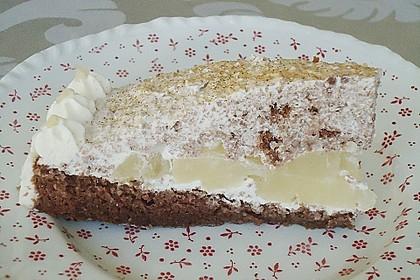 Birnen - Schokoladen Torte 2