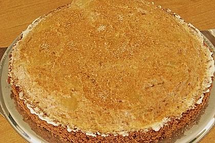 Birnen - Schokoladen Torte 8