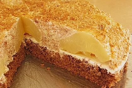 Birnen - Schokoladen Torte 3