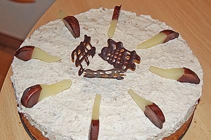 Birnen - Schokoladen Torte 13