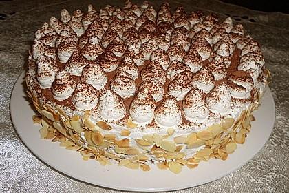 Birnen - Schokoladen Torte 1