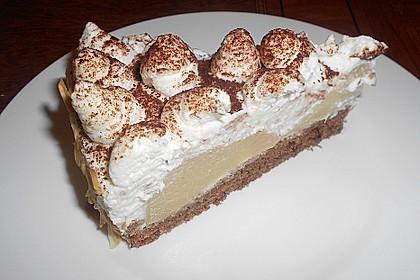 Birnen - Schokoladen Torte 5