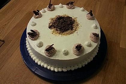 Birnen - Schokoladen Torte 4