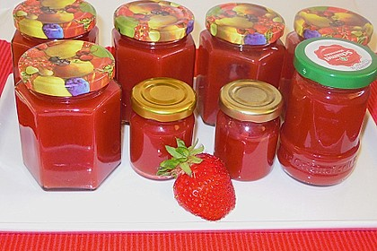 Erdbeer - Kokos - Marmelade 4