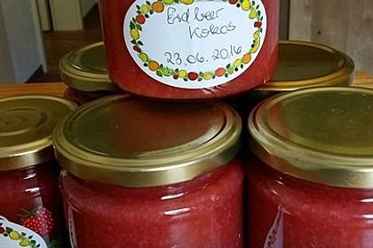 Erdbeer - Kokos - Marmelade
