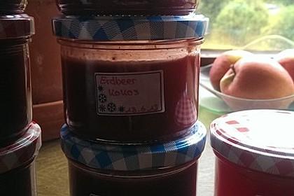 Erdbeer - Kokos - Marmelade 11