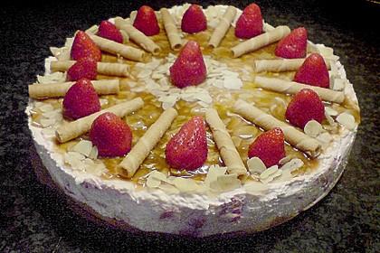 Erdbeer - Karamell - Torte 30