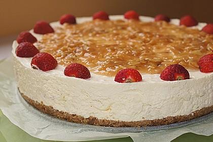 Erdbeer - Karamell - Torte 8