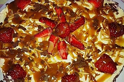 Erdbeer - Karamell - Torte 25