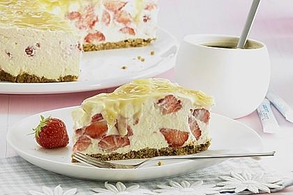 Erdbeer - Karamell - Torte