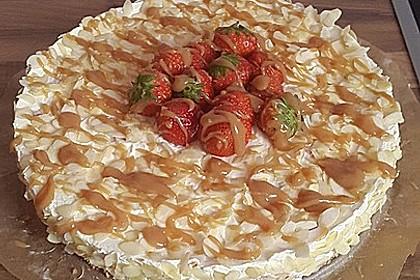 Erdbeer - Karamell - Torte 1