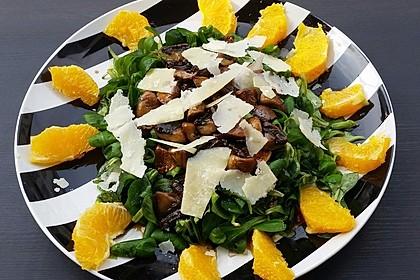 Salat mit Honigchampignons 33