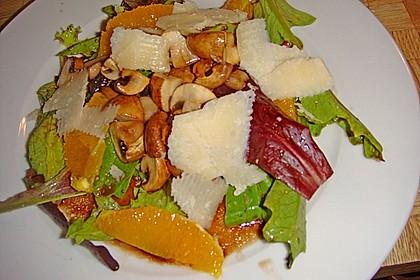 Salat mit Honigchampignons 50