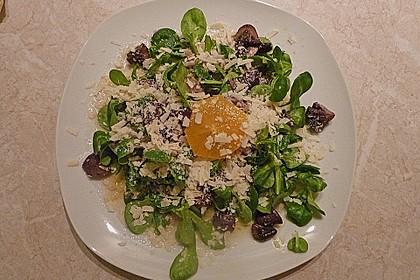 Salat mit Honigchampignons 21