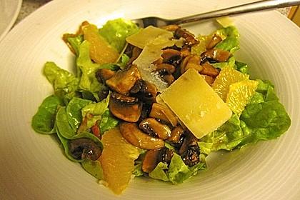 Salat mit Honigchampignons 22