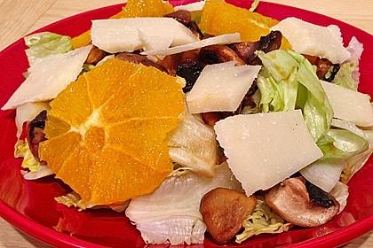 Salat mit Honigchampignons 32