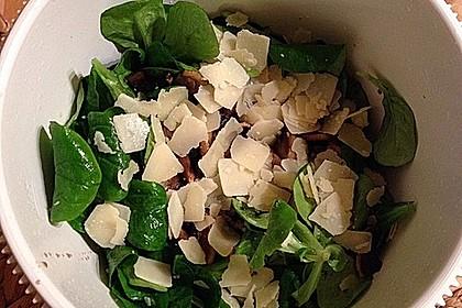Salat mit Honigchampignons 58