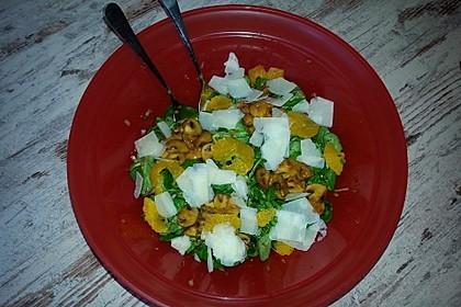 Salat mit Honigchampignons 30