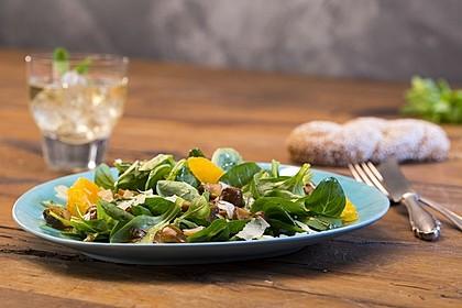 Salat mit Honigchampignons 1