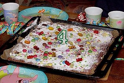 Schokoladen - Blechkuchen 12
