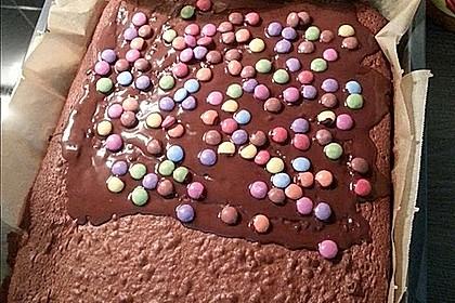 Schokoladen - Blechkuchen 13
