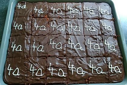 Schokoladen - Blechkuchen 3