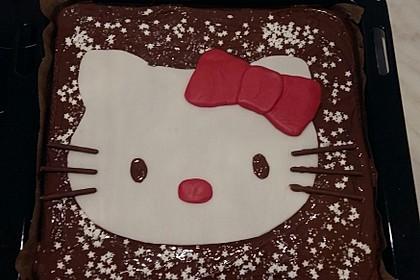 Schokoladen - Blechkuchen 1