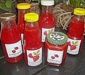Erdbeersoße (Bild)