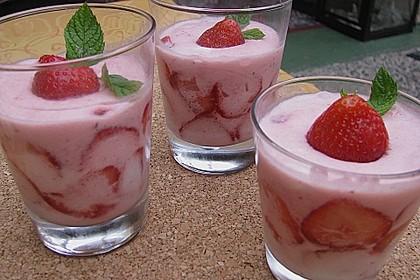 Erdbeer- Minz - Mousse 1