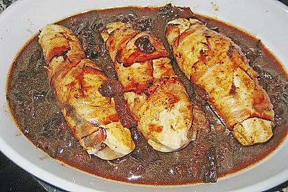 Hühnerbrust mit Pflaumenfüllung 5