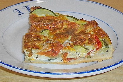Tomaten - Zucchini - Kuchen 3