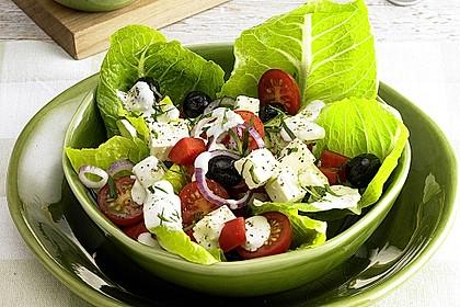 Griechischer Bauernsalat 0