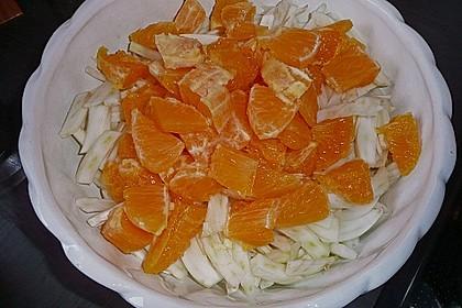 Fenchelsalat mit Orangenfilets 3