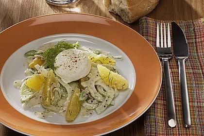 Fenchelsalat mit Orangenfilets 0