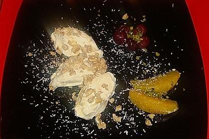 Joghurt - Mousse mit Honig und Walnüssen 1