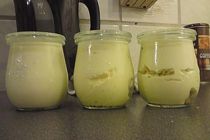 Joghurt - Mousse mit Honig und Walnüssen 2