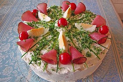 Deftige Aufstrich - Torte
