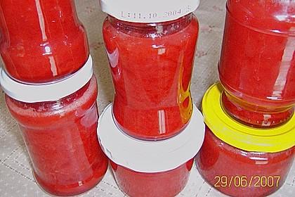 Erdbeermarmelade mit Kokosmilch 18