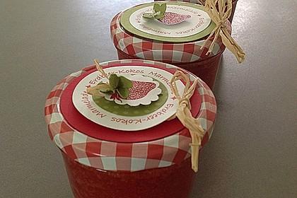 Erdbeermarmelade mit Kokosmilch 4
