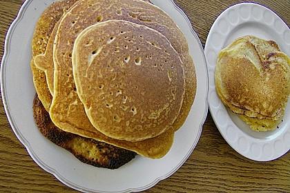 Kichererbsen - Pfannkuchen 6