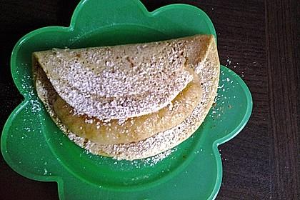 Kichererbsen - Pfannkuchen 8