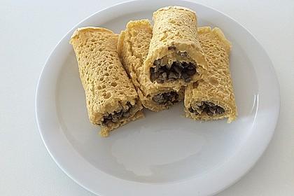 Kichererbsen - Pfannkuchen