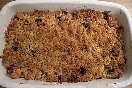 Apfel - Birnen - Crumble 7
