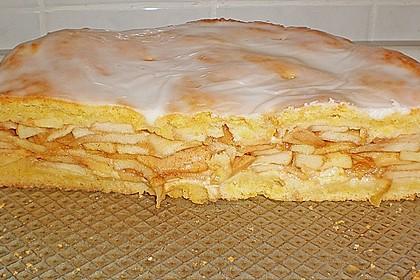 Apfelkuchen gedeckt 27